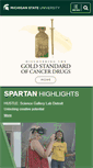 Mobile Preview of msu.edu
